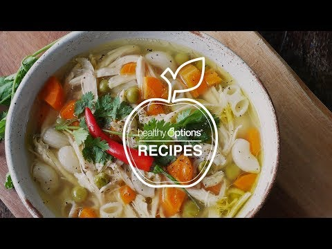 How to Cook All-Natural Chicken Noodle Soup
