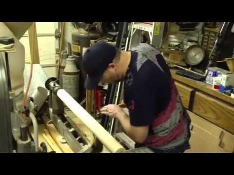 Making a wood bat