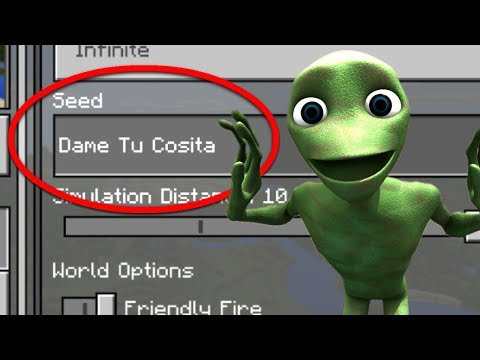 Do NOT Play the DAME TU COSITA SEED in Minecraft Pocket Edition