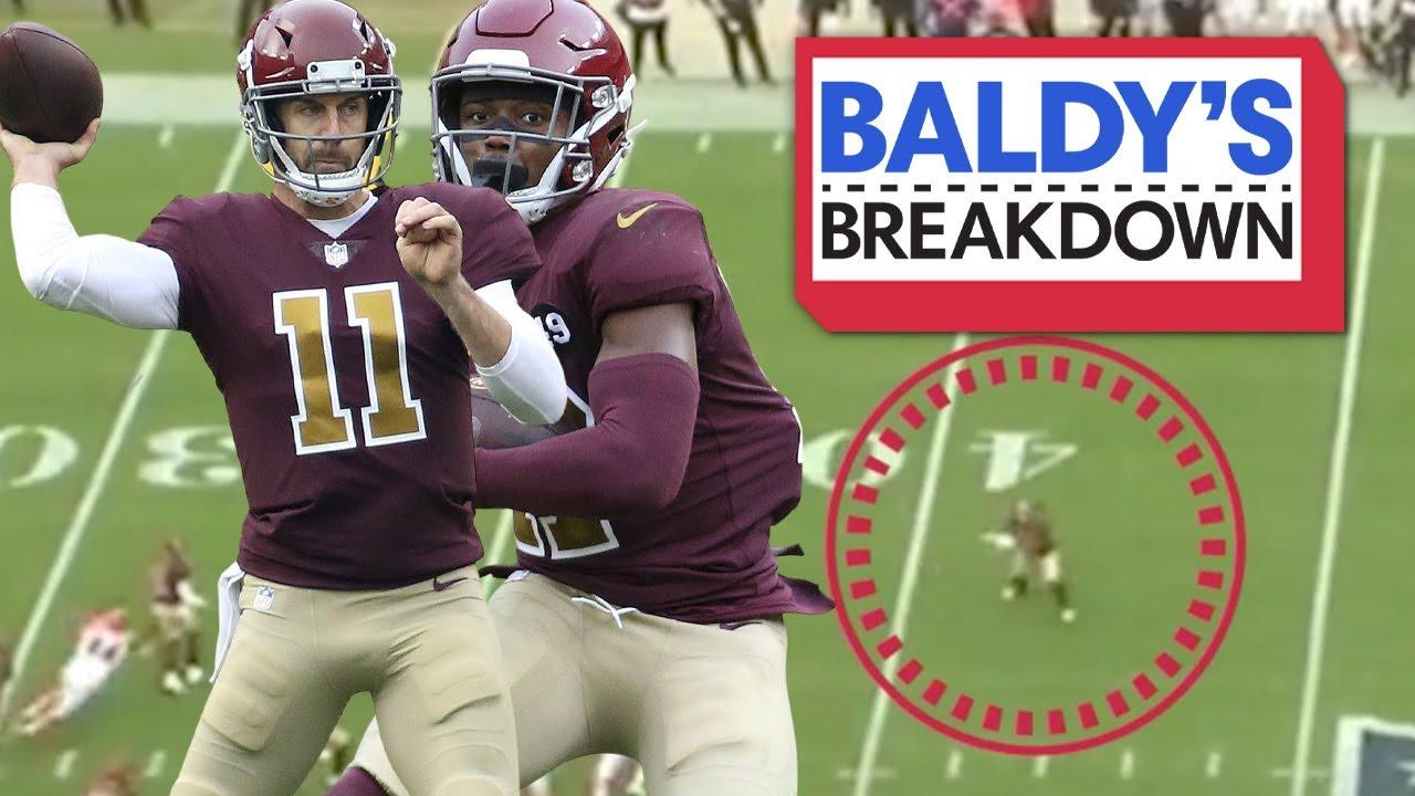 Breaking Down Alex Smith's INSPIRING Performance Week 11 vs the Bengals | Baldy Breakdown