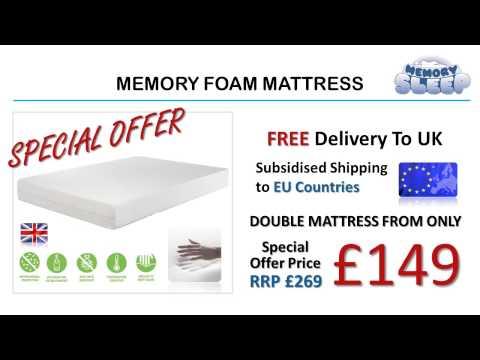 Memory Foam Mattress @ memorysleep.co.uk