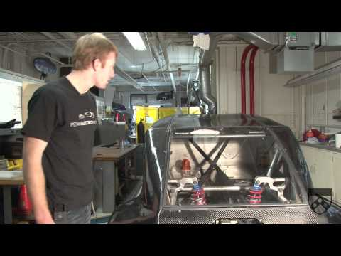 Electric Drag Race Car from the University of Pennsylvania