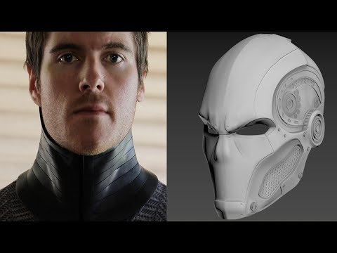 The Road to Red Hood: Part 3- Neck Seal & Helmet Rendering!
