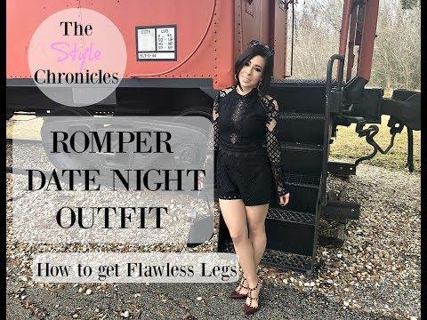 OOTD - Romper & How to get Flawless Legs!!
