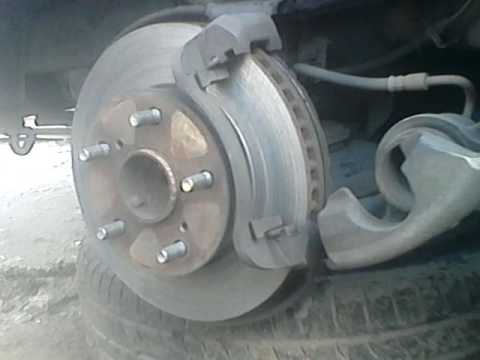 How to remove and detect that your Toyota Innova rotor disc is worn-out