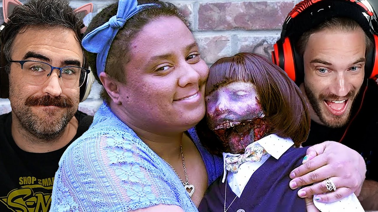 Woman Married To A Zombie Doll
