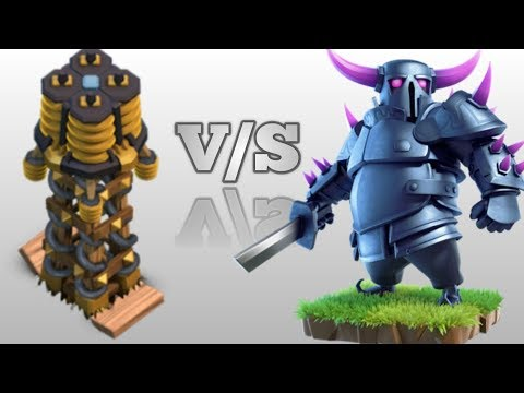 Hidden Tesla V/S P.E.K.K.A. | Pekka Trap | Clash Of Clans | Awesome Experiment