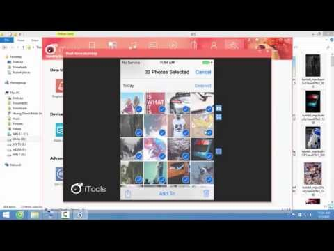 iTools - How to Import Photos into Camera Roll iOS 6,7,8, 9