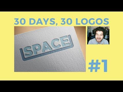 30 Days, 30 Logos #1 - Space