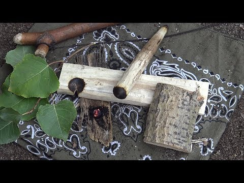 The Cottonwood Bow Drill