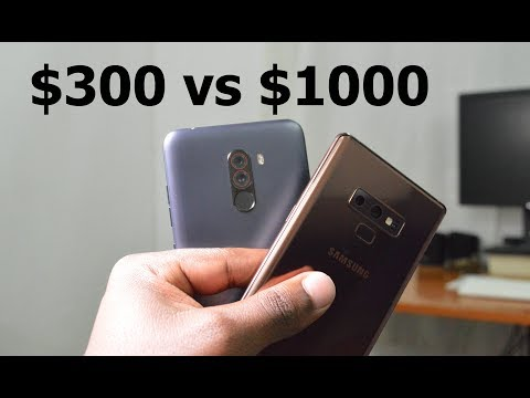 Pocophone F1 vs Galaxy Note 9.  The Ultimate Price War!
