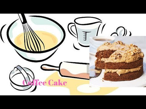 How to Make coffee cake.