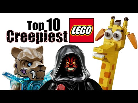 Top 10 Creepiest LEGO Minifigures and Sets!