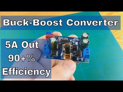 5A DC-DC Buck-Boost converter Review | From ICStation.com
