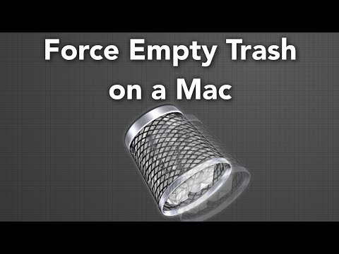 How To Force Empty Trash on a Mac