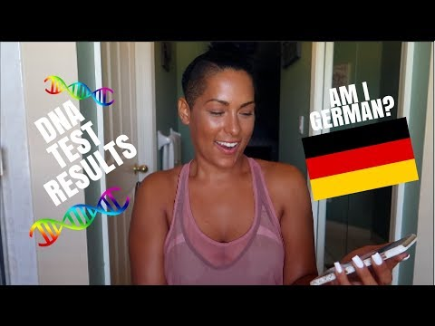 I AM ACTUALLY GERMAN? DNA TEST RESULTS