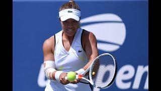 Kristie Ahn vs. Jelena Ostapenko | US Open 2019 R3 Highlights