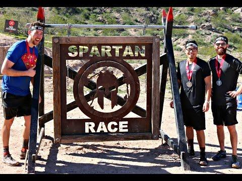 Spartan Sprint Arizona 2017 (All Obstacles)