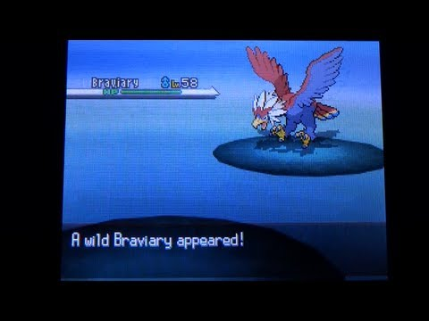 How to Catch Braviary - Pokemon Black and White