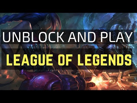 How to Play League of Legends with VPN