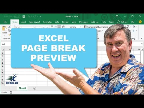 MrExcel's Learn Excel #678 - Page Break Preview