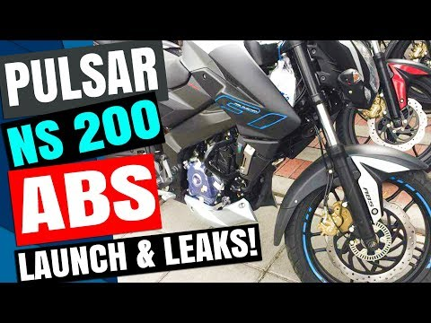 PULSAR NS 200 ABS LEAKS & LAUNCH UPDATE!