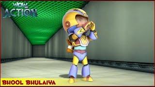 Vir : The Robot Boy | Bhool Bhulaiya | 3D Action shows for kids | WowKidz Action