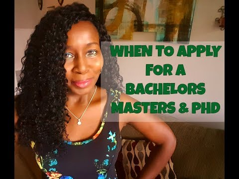When to apply for a BA, MA and PhD?!