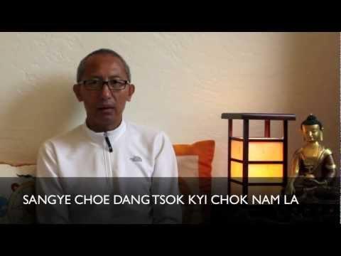 Refuge Prayer: How to Say it in Tibetan