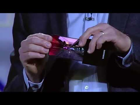 Samsung Galaxy X - Flexible OLED Smartphone | Official Announcement 2018