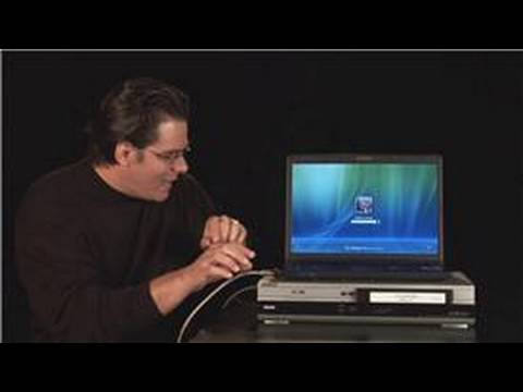 VCRs & Computers : How to Connect a VCR to a Laptop