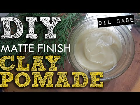 How to Make a Styling Clay Pomade - Matte Finish DIY