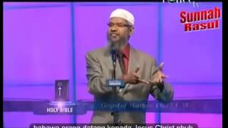Is Jesus Christ (Prophet Isa) NOT Crucified-Killed?  Dr Zakir Naik