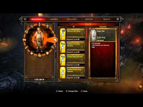 Diablo 3: Reaper of Souls - Crusader Gameplay Walkthrough 1