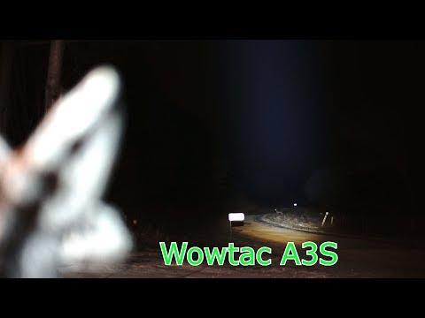 The new Wowtac A3S Flashlight
