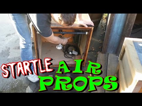 DIY Pneumatic Prop Set Up With Compressed Air System