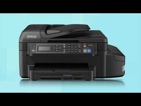 Epson EcoTank ET-4500 & ET-4550 | Wireless Setup Using the Printer's Buttons