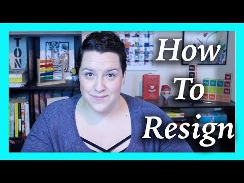 How To Write a Resignation Letter | Nanny Advice