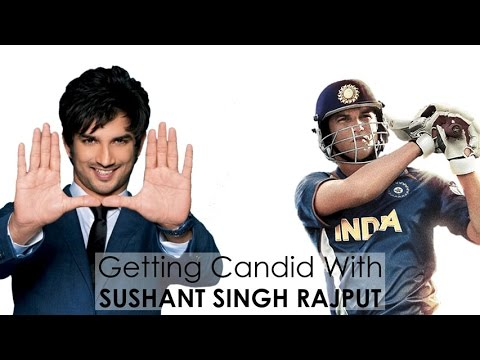 Getting Candid With Sushant Singh Rajput