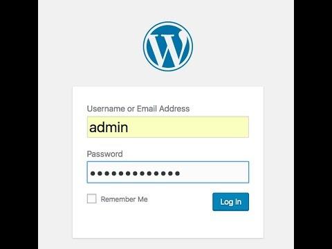 kubernetes wordpress installation