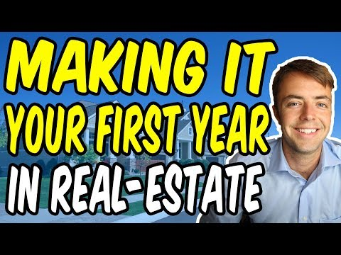 5 Tips To Get Past Your First Year in Real-Estate
