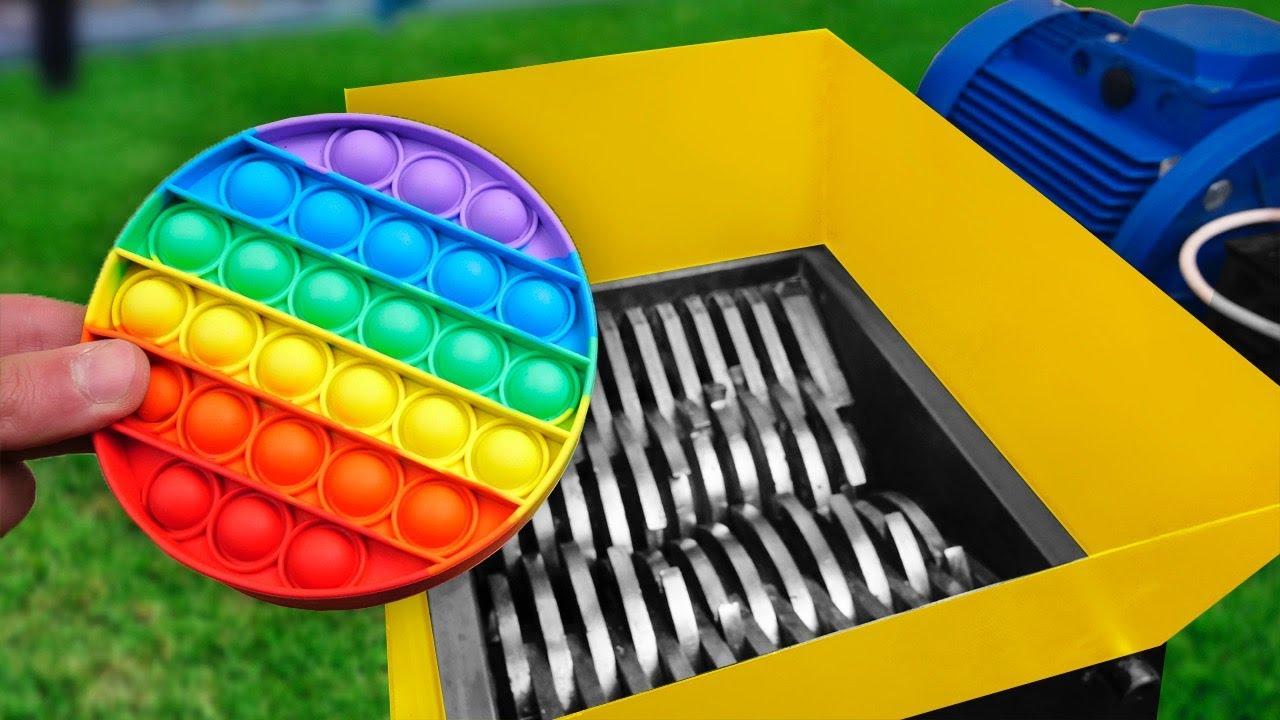Shredding Pop It | Best Shredding Experiments