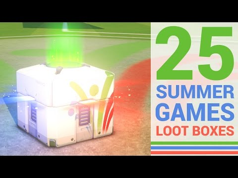 Opening 25 Overwatch Summer Games Loot Boxes