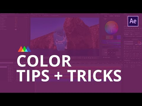 Color Tips in After Effects