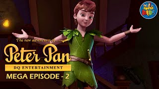 Peter Pan ᴴᴰ [Latest Version] - Mega Episode [2] - Animated Cartoon Show For Kids
