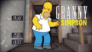 Granny is Homer Simpson!