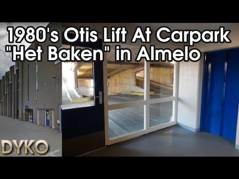 1980's Otis lift at carpark