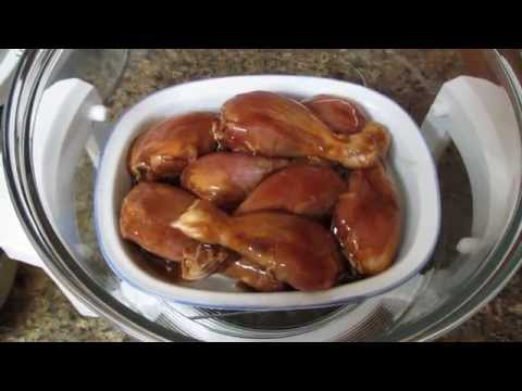 Convection Oven - Honey, Soy & Garlic Chicken Drumsticks