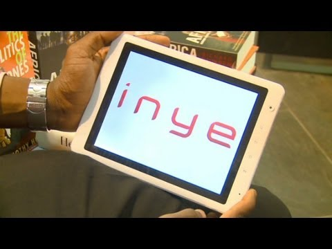 Nigerian company launches new tablet, the Inye