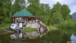 "оз. Телецкое: база отдыха, водопад ""Эстюбэ"""